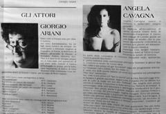 Angela Cavagna Teatro